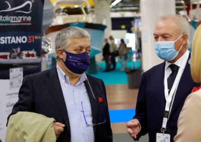 Da sx: Gianpiero Calzolari (pres. BolognaFiere), Gennaro Amato (pres. Snidi)