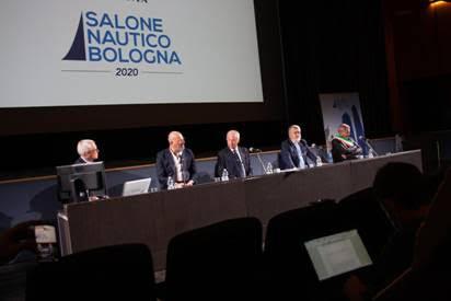 Sabato 17 inaugurazione del I° Salone Nautico di Bologna