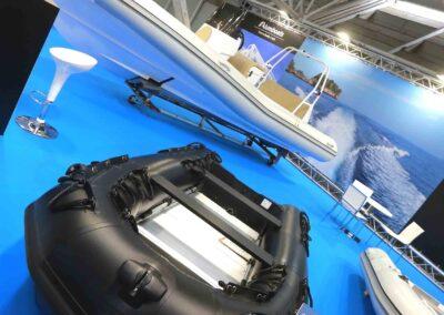 16 ottobre 2020 preparativi al salone nautico di Bologna